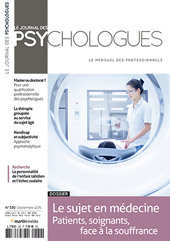 Le Journal de spsychologues