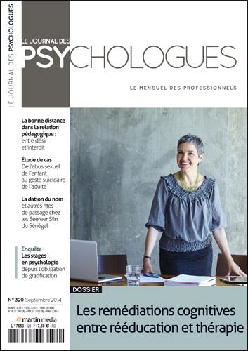 Le Journal des psychologues n°320