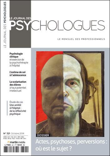 Le Journal des psychologues n°321