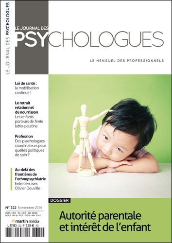 Le Journal des psychologues n°322