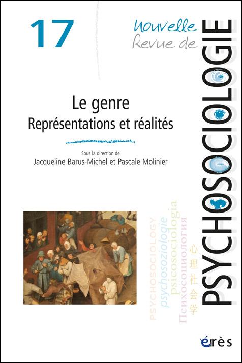 Nouvelle revue de psychosociologie. Dossier « Le genre. Représentations et réalités »