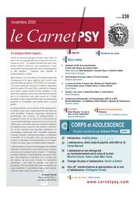 Le Carnet Psy. Dossier « Corps et adolescence »