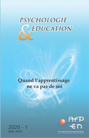 Psychologie & Éducation. Dossier «Quand l'apprentissage ne va pas de soi»