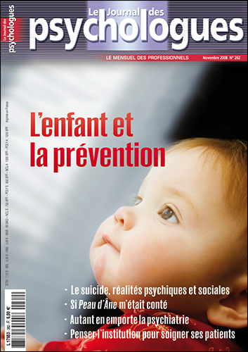 Le Journal des psychologues n°262