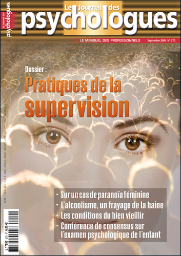 Le Journal des psychologues n°270