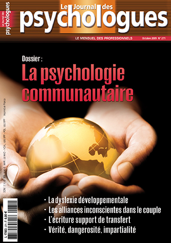 Le Journal des psychologues n°271