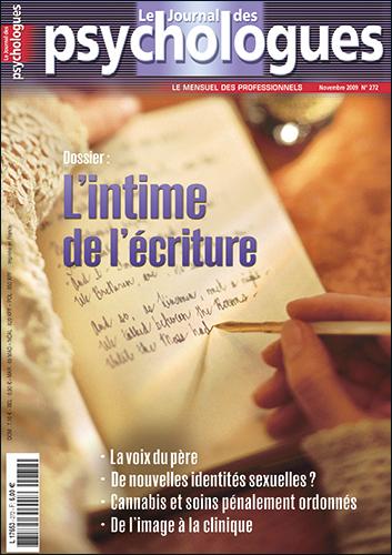 Le Journal des psychologues n°272