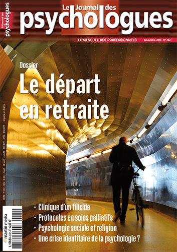 Le journal des psychologues n°282
