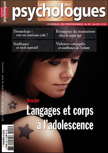 Le Journal des psychologues n°293