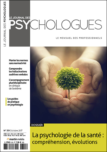 Le journal des psychologues n°351
