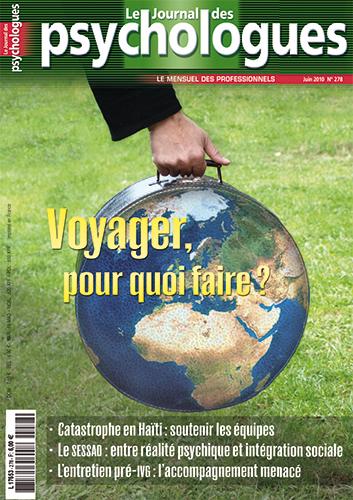 Le Journal des psychologues n°278