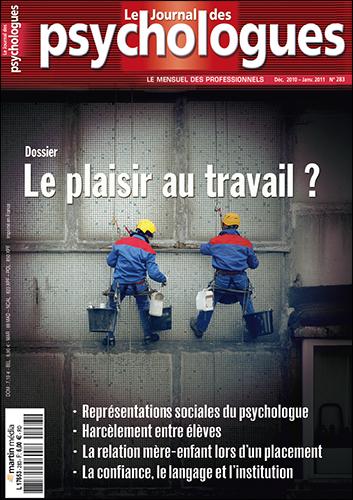 Le Journal des psychologues n°283