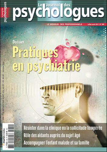 Le Journal des psychologues n°289