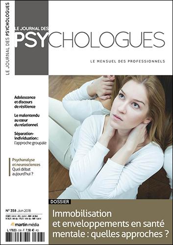 Le journal des psychologues n°358 Juin 2018