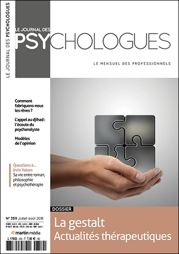 Le Journal des psychologues n°359