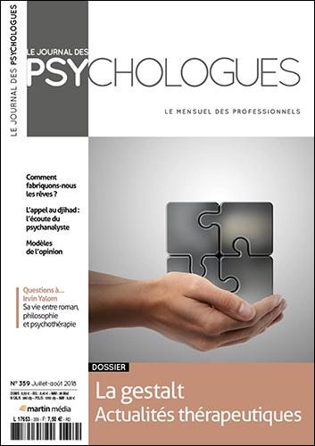 Le journal des psychologues n°359
