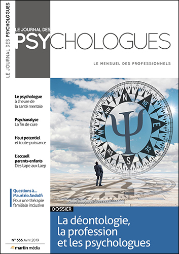 Le Journal des psychologues n°366