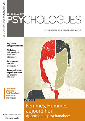 Le Journal des psychologues n°370