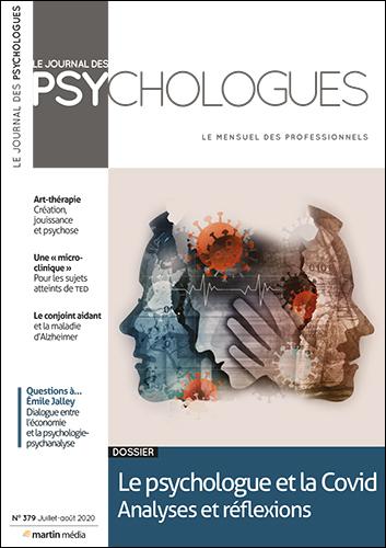 Le Journal des psychologues n°379 Juillet - Août 2020