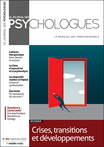 Le Journal des psychologues n°380