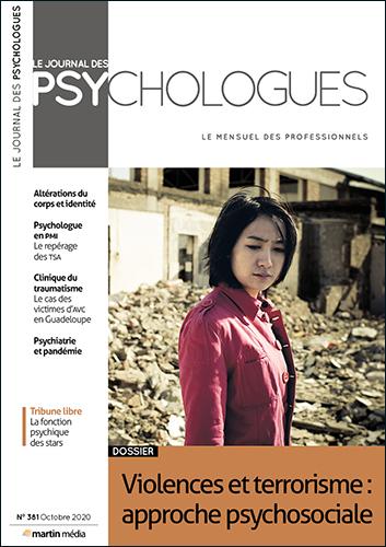 Le Journal des psychologues n°381 Octobre 2020