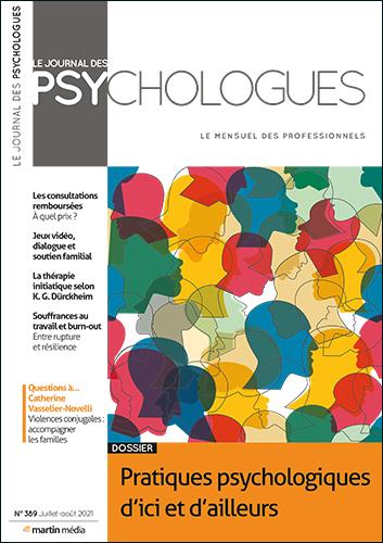 Le Journal des psychologues n°389 Juillet - Août 2021