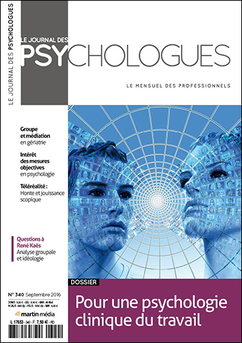 Le Journal des psychologues n°340