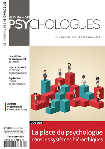 Le Journal des psychologues n°341