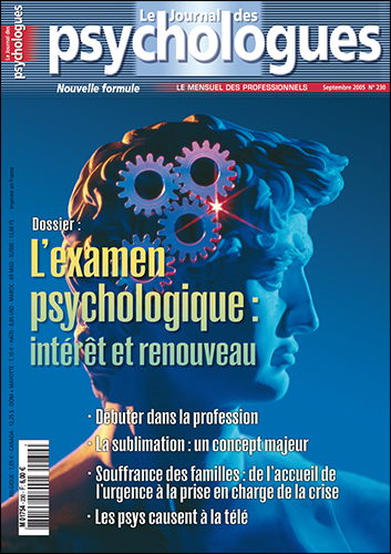 Le Journal des psychologues n°230