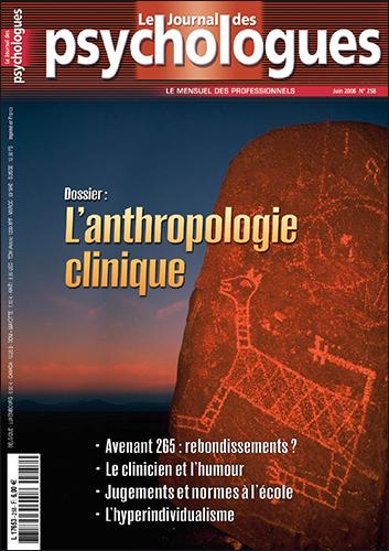 Le Journal des psychologues n°258