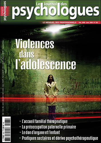 Le Journal des psychologues n°263