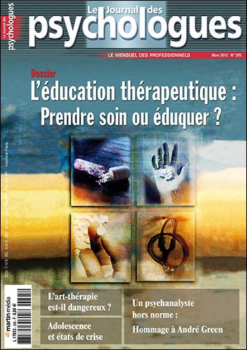 Le Journal des psychologues n°295
