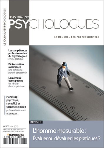 Le journal des psychologues n°307
