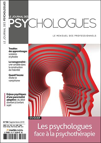 Le Journal des psychologues n°310
