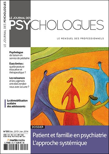 Le Journal des psychologues n°313