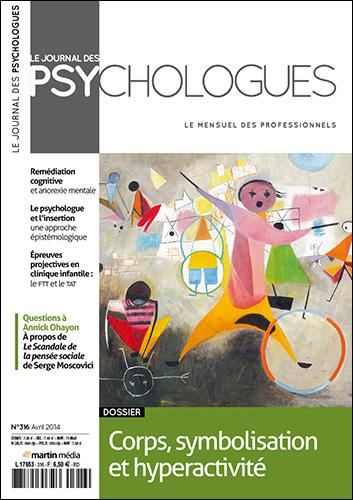 Le Journal des psychologues n°316