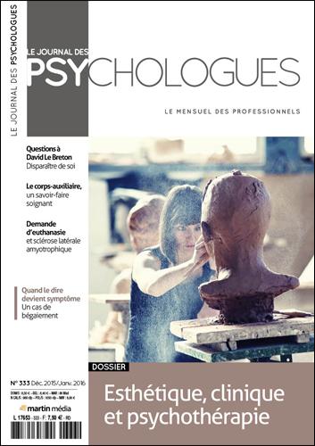 Le Journal des psychologues n°333