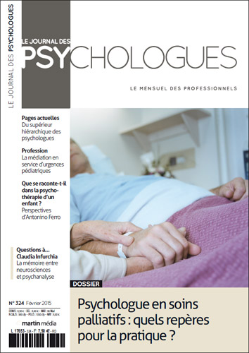 Le Journal des psychologues n°324
