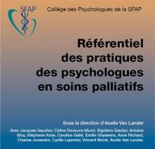 Référentiel des pratiques des psychologues en soins palliatifs