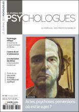 Le Journal des psychologues n°321