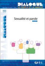 Dialogue. Dossier « Sexualité et parole »