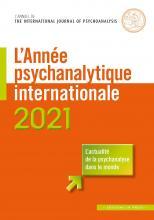 L'année psychanalytique internationale – 2021