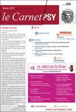 Le Carnet/Psy. Dossier «Le robot sur le divan»