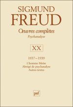 Sigmund Freud. Œuvres complètes – Psychanalyse – XX