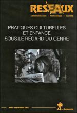 Revue Réseaux. Dossier « Pratiques culturelles et enfance sous le regard du genre »