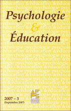Psychologie et éducation