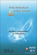 Psychologie et éducation. Dossier « Repérer, comprendre et interpréter »