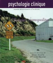 Psychologie clinique. «Cliniques cosmopolites»