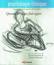 Psychologie clinique. Dossier « Quand le corps fait signe »
