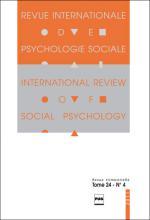 Revue internationale depsychologie sociale